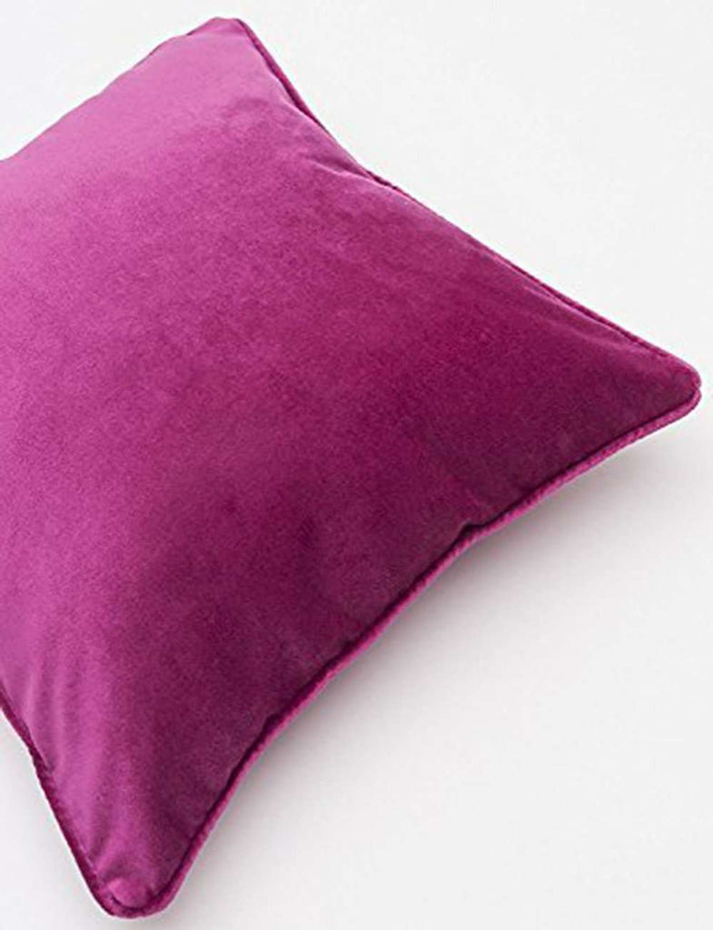 McAlister Textiles Matt Fuchsia Pink Velvet Cushion Cushions and Covers