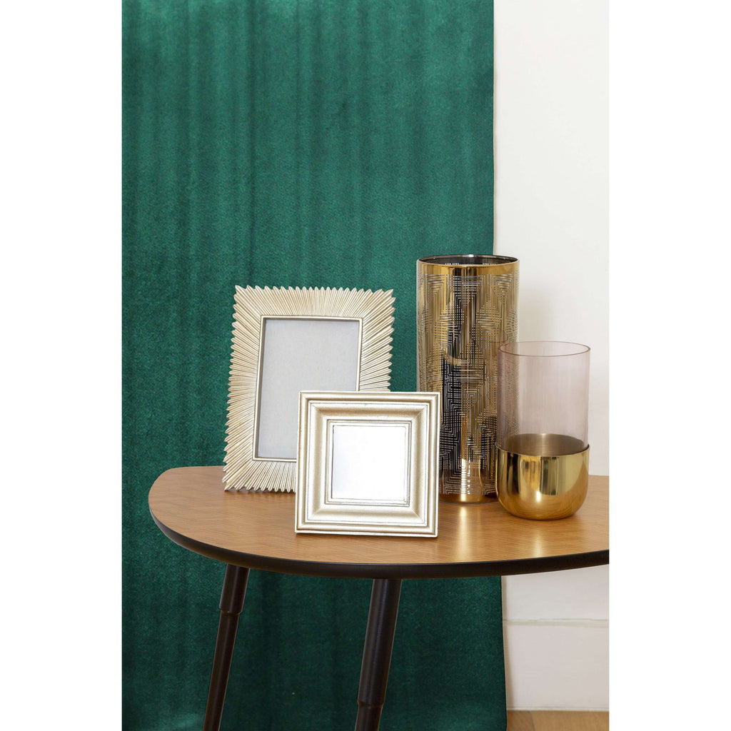 McAlister Textiles Matt Emerald Velvet Curtains Tailored Curtains