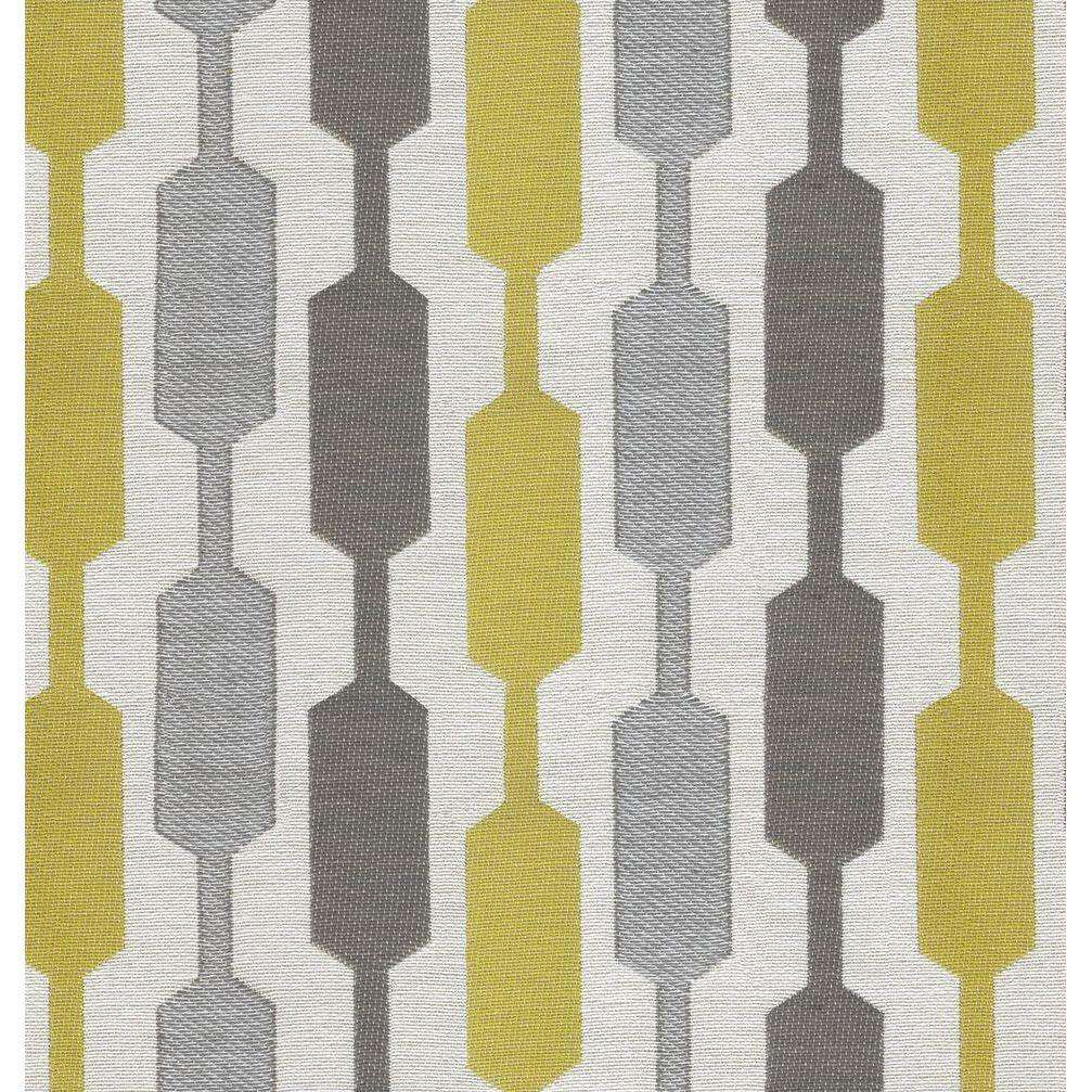 McAlister Textiles Lotta Yellow + Grey Roman Blind Roman Blinds