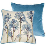 Cargar imagen en el visor de la galería, McAlister Textiles Tapestry Bluebell Floral Cushion Cushions and Covers
