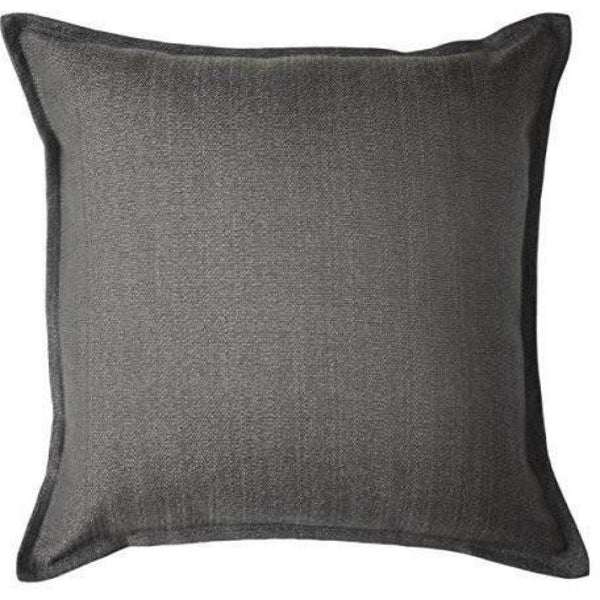 McAlister Textiles Savannah Charcoal Grey Cushion Cushions and Covers Cover Only 43cm x 43cm
