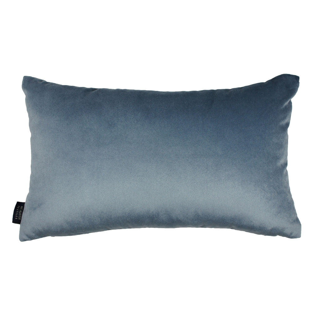 McAlister Textiles Harris Tweed Pillow - Blue & Grey Pillow