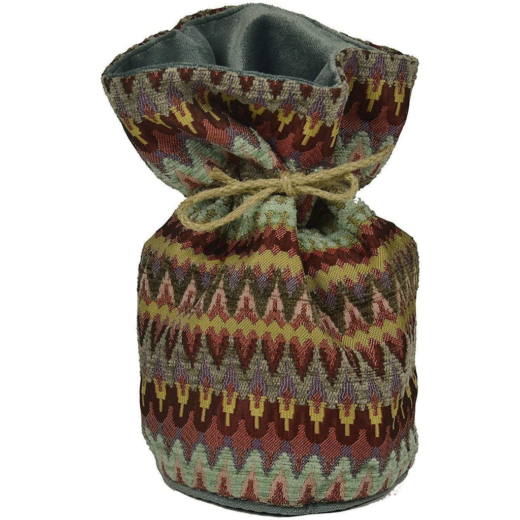 McAlister Textiles Curitiba Aztec Red + Purple Door Stop Doorstops