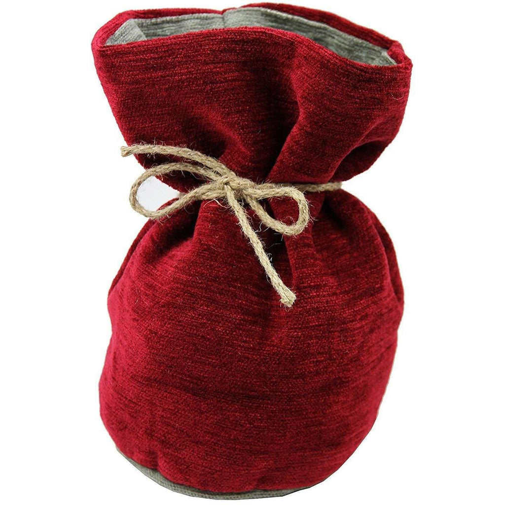 McAlister Textiles Alston Chenille Red + Grey Door Stop Doorstops