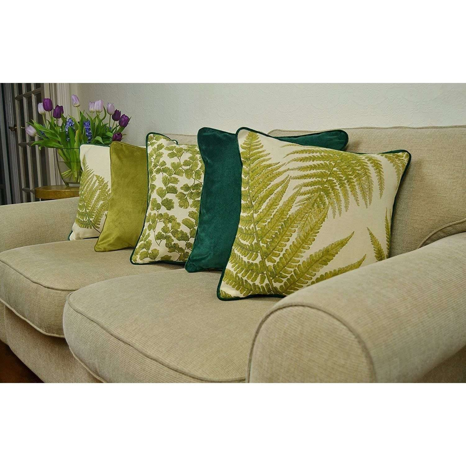 McAlister Textiles Tapestry Floral Cushion Sets Cushions and Covers