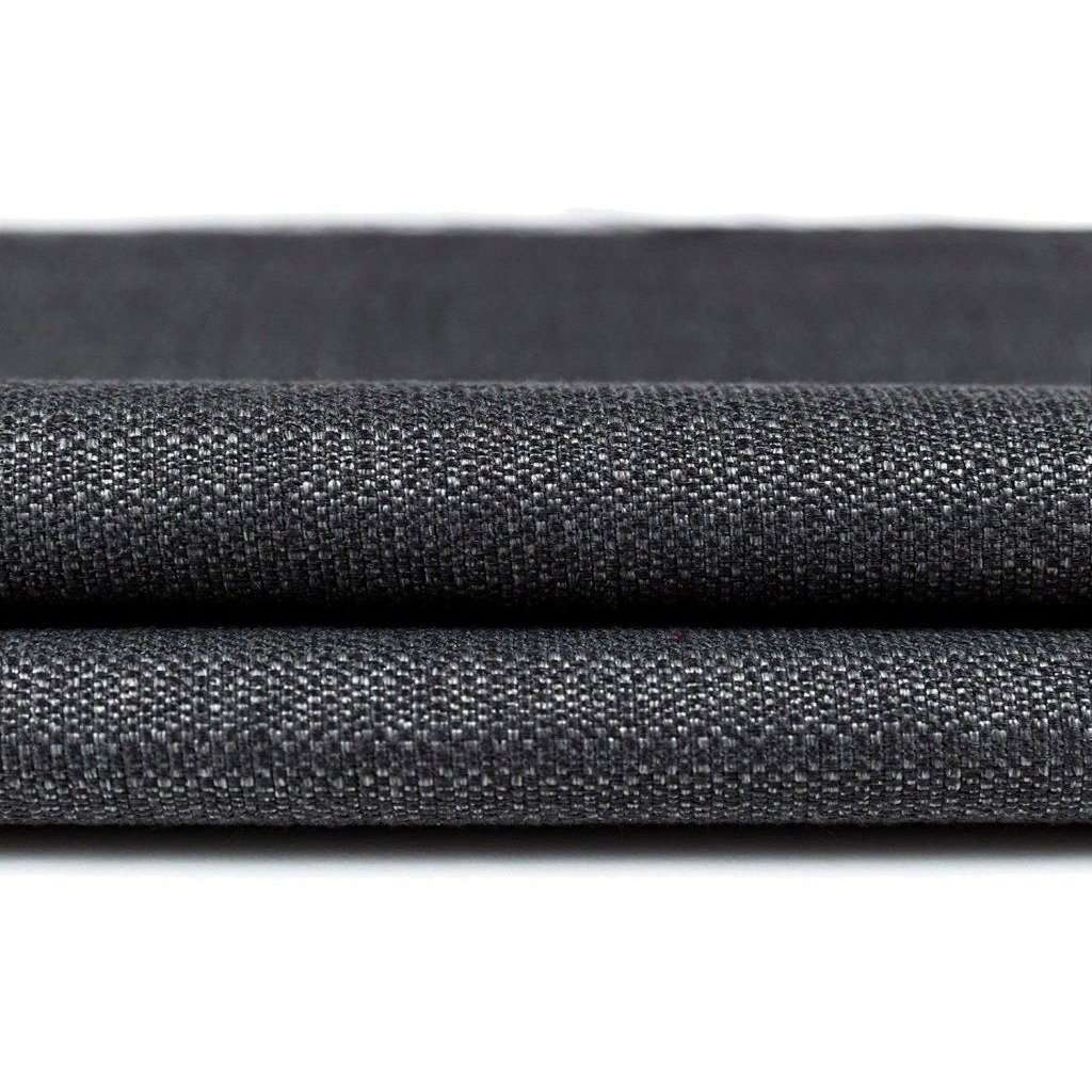 McAlister Textiles Savannah Charcoal Grey Fabric Fabrics