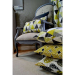 Load image into Gallery viewer, McAlister Textiles Vita Cotton Print Ochre Yellow Curtains Tailored Curtains
