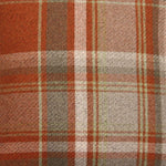 Load image into Gallery viewer, McAlister Textiles Heritage Burnt Orange + Grey Tartan Bedding Set Bedding Set