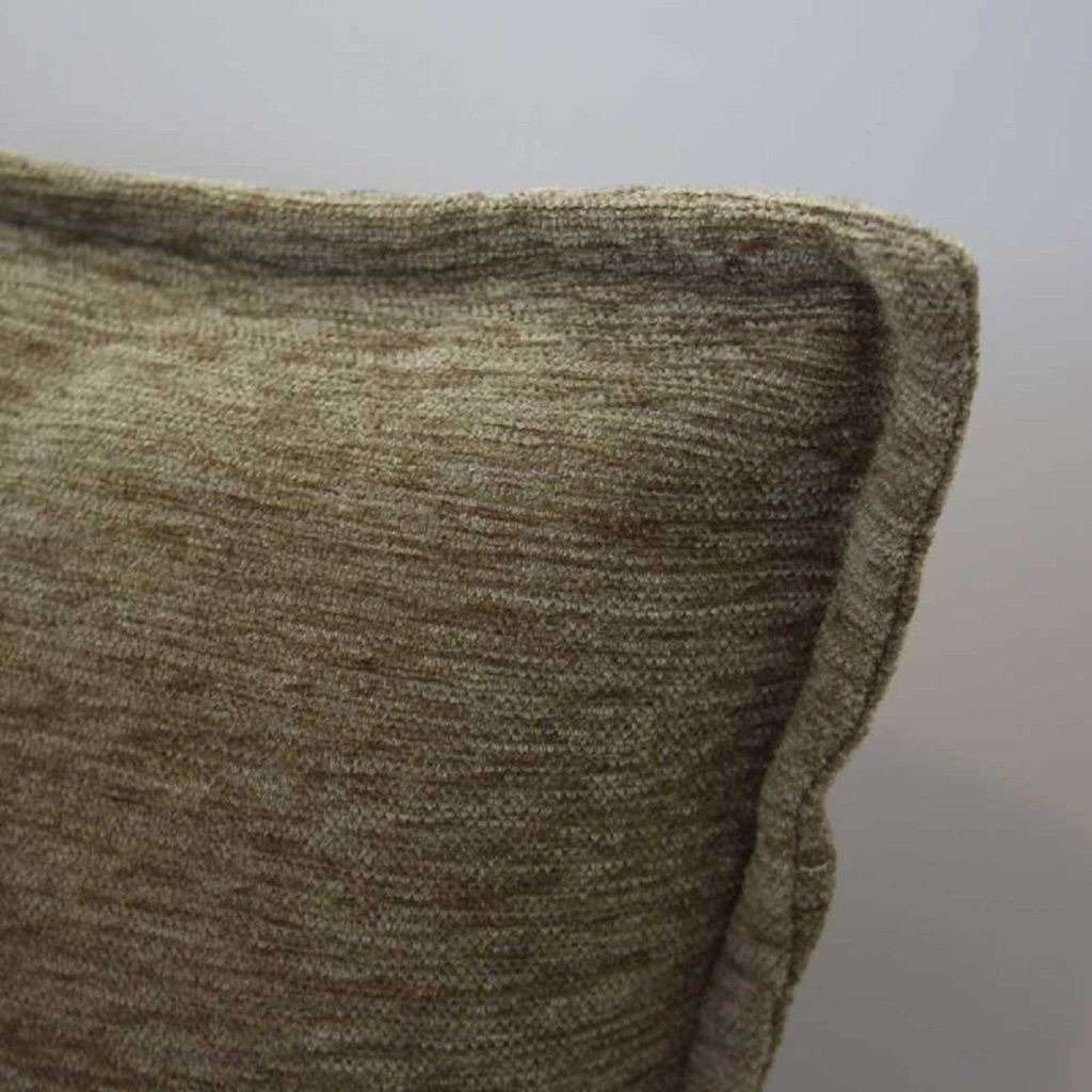 McAlister Textiles Plain Chenille Taupe Beige Cushion Cushions and Covers