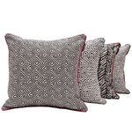 Load image into Gallery viewer, McAlister Textiles Monterrey Black + White Pillow Pillow