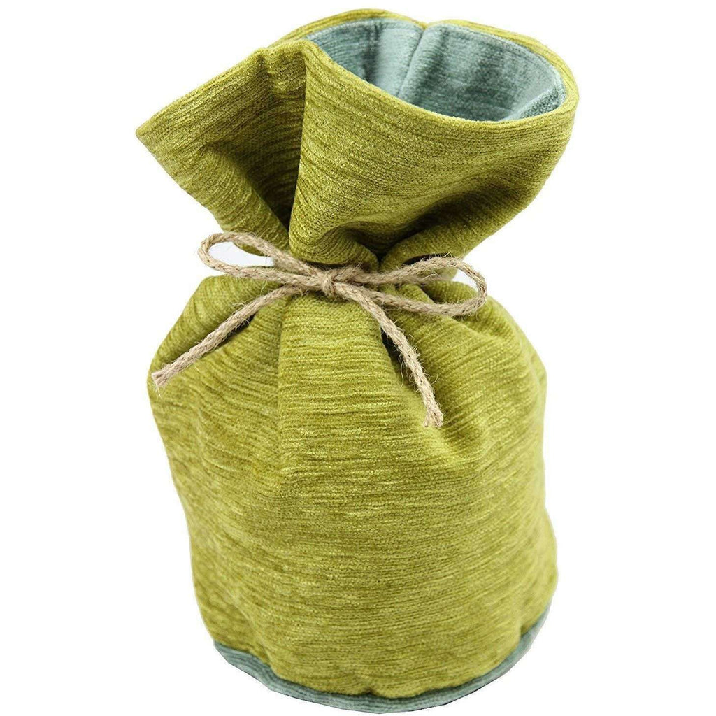 McAlister Textiles Alston Chenille Green + Duck Egg Blue Door Stop Doorstops
