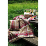 Load image into Gallery viewer, McAlister Textiles Heritage Purple + Green Tartan Bedding Set Bedding Set