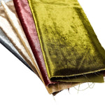 Load image into Gallery viewer, McAlister Textiles Crushed Velvet Champagne Gold Fabric Fabrics
