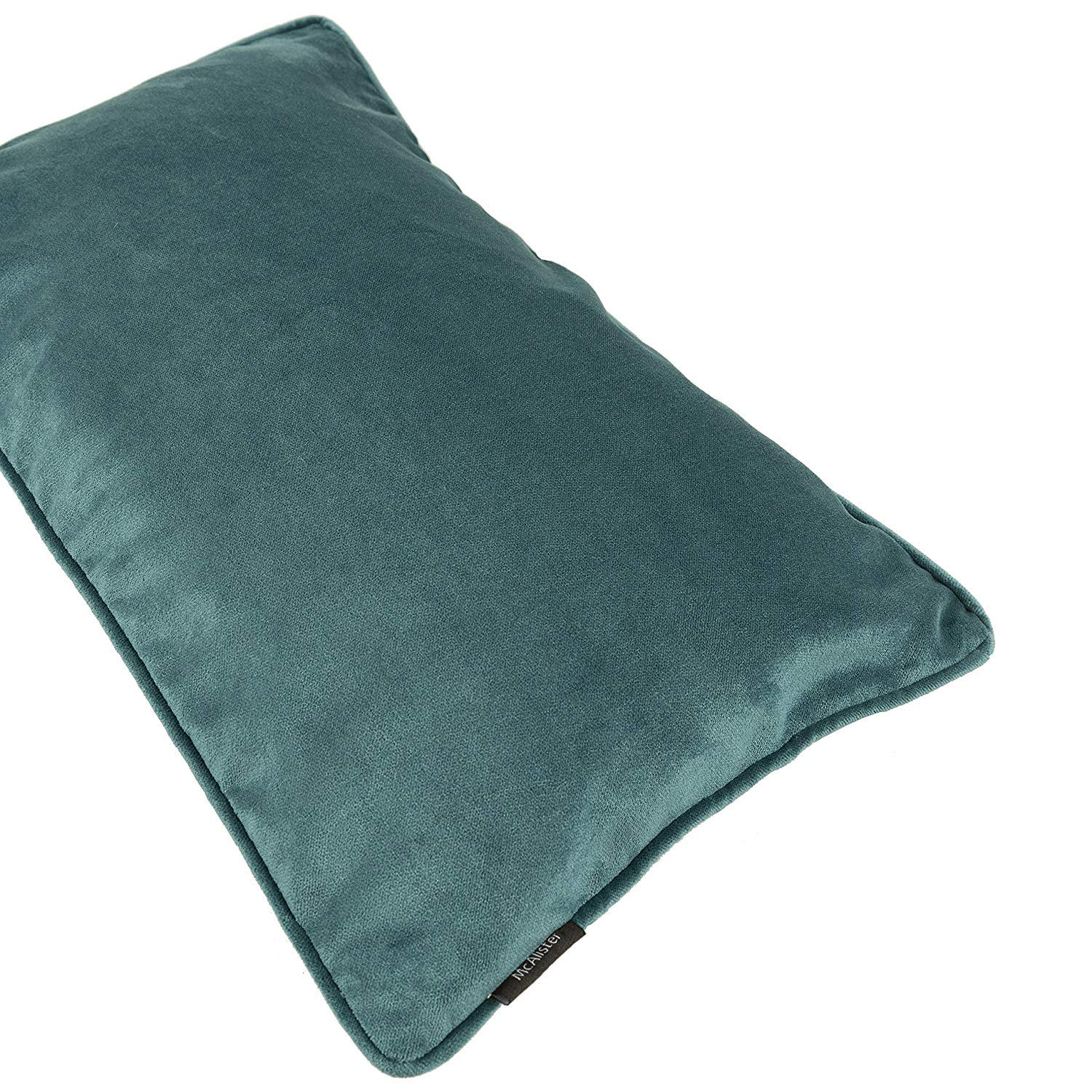 McAlister Textiles Matt Blue Teal Velvet Cushion Cushions and Covers