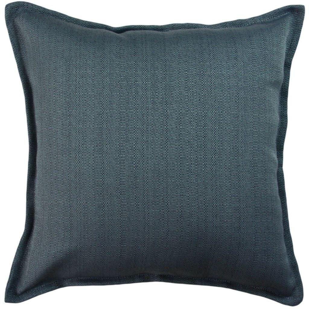McAlister Textiles Savannah Navy Blue Pillow Pillow Cover Only 43cm x 43cm