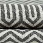 Load image into Gallery viewer, McAlister Textiles Colorado Geometric Charcoal Grey Fabric Fabrics