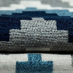 Load image into Gallery viewer, McAlister Textiles Navajo Navy Blue Striped Fabric Fabrics
