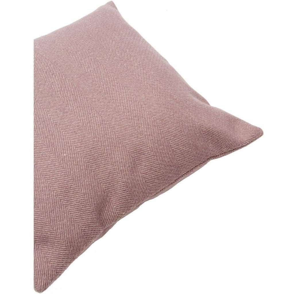 McAlister Textiles Herringbone Lilac Purple Cushion Cushions and Covers