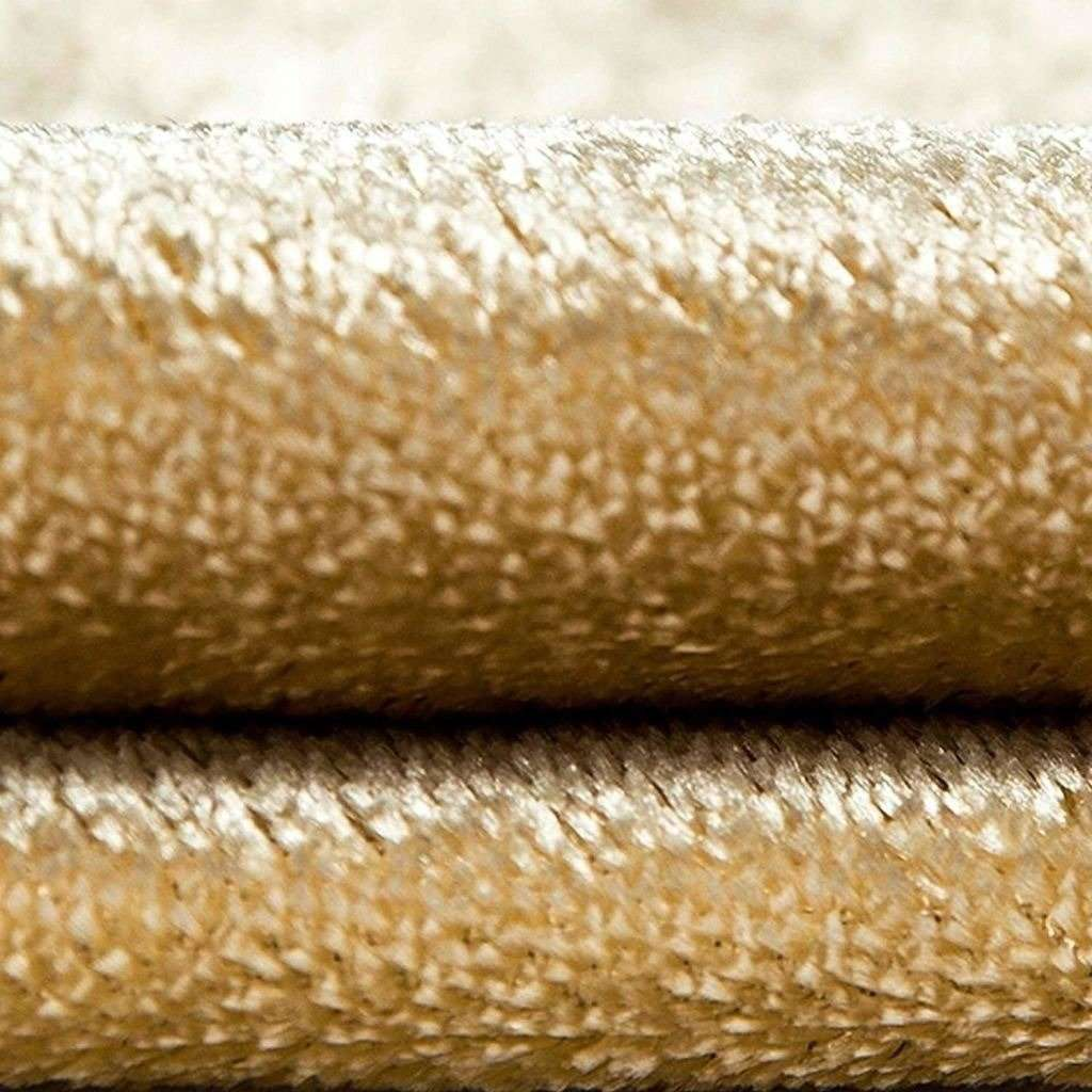 McAlister Textiles Champagne Gold Crushed Velvet Cushions Cushions and Covers