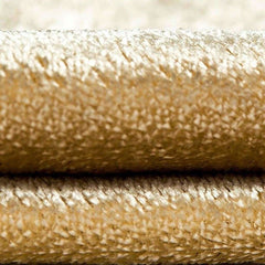 McAlister Textiles Shiny Lightly Crushed Velvet Champagne Gold Cushion-Cushions and Covers-