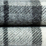 Load image into Gallery viewer, McAlister Textiles Heritage Charcoal Grey Tartan Table Runner Throws and Runners