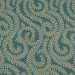 Load image into Gallery viewer, McAlister Textiles Little Leaf Teal Fabric Fabrics