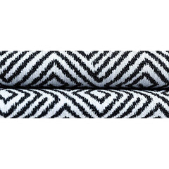 mcalister-textiles-black-white-acapulco-woven-geometric-fabric-close-up-shot