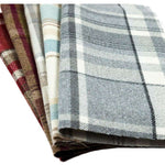 Load image into Gallery viewer, McAlister Textiles Heritage Tartan Duck Egg Blue Curtain Fabric Fabrics