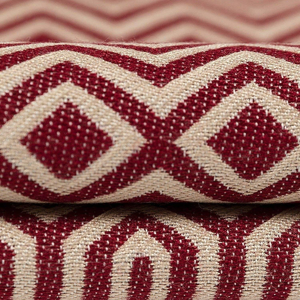 McAlister Textiles Colorado Geometric Red Pillow Pillow