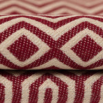 Load image into Gallery viewer, McAlister Textiles Colorado Geometric Red Pillow Pillow