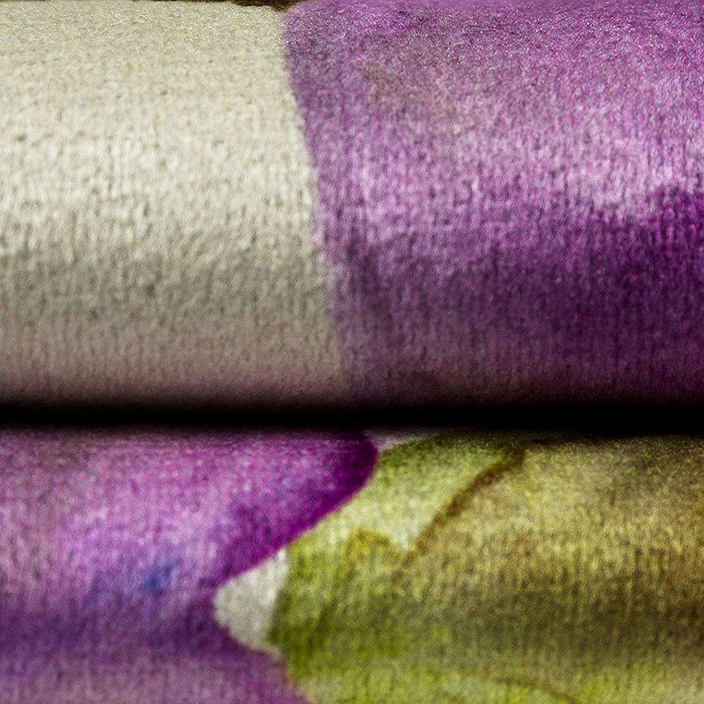McAlister Textiles Renoir Floral Violet Purple Velvet Cushion Cushions and Covers