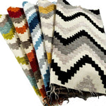 Load image into Gallery viewer, McAlister Textiles Navajo Yellow+ Grey Striped Fabric Fabrics