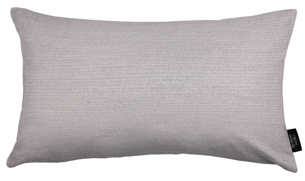 McAlister Textiles Hamleton Lilac Purple Textured Plain Cushion Cushions and Covers Cover Only 50cm x 30cm
