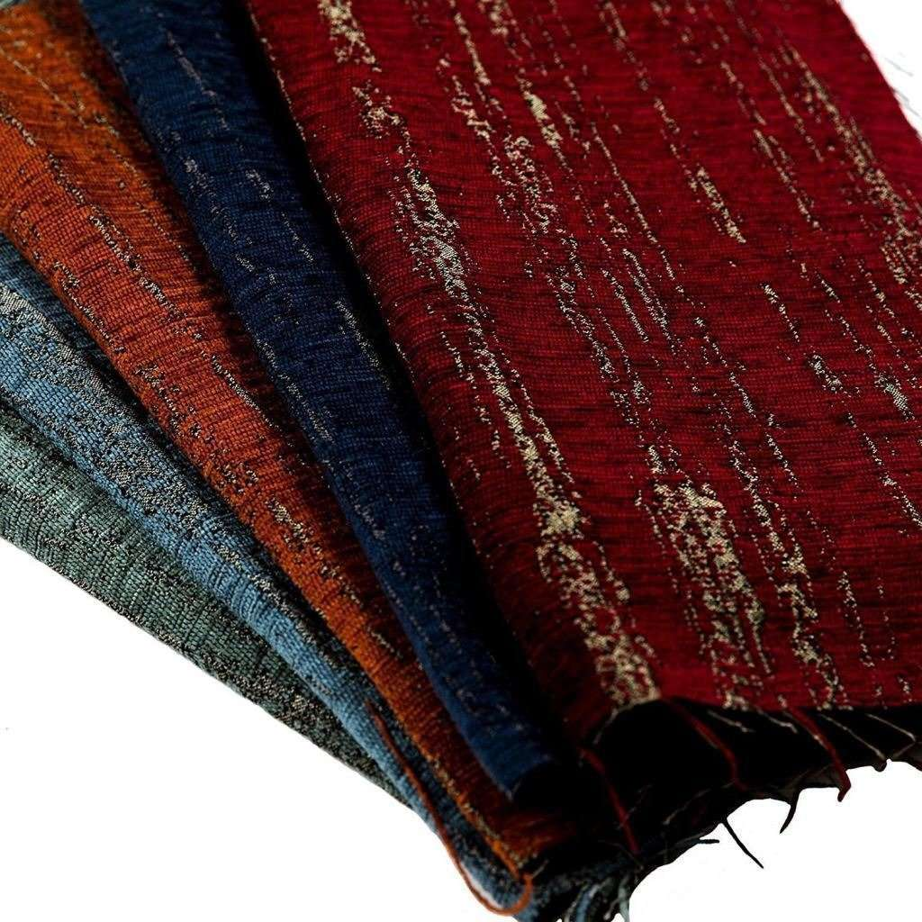 McAlister Textiles Textured Chenille Wine Red Roman Blinds Roman Blinds
