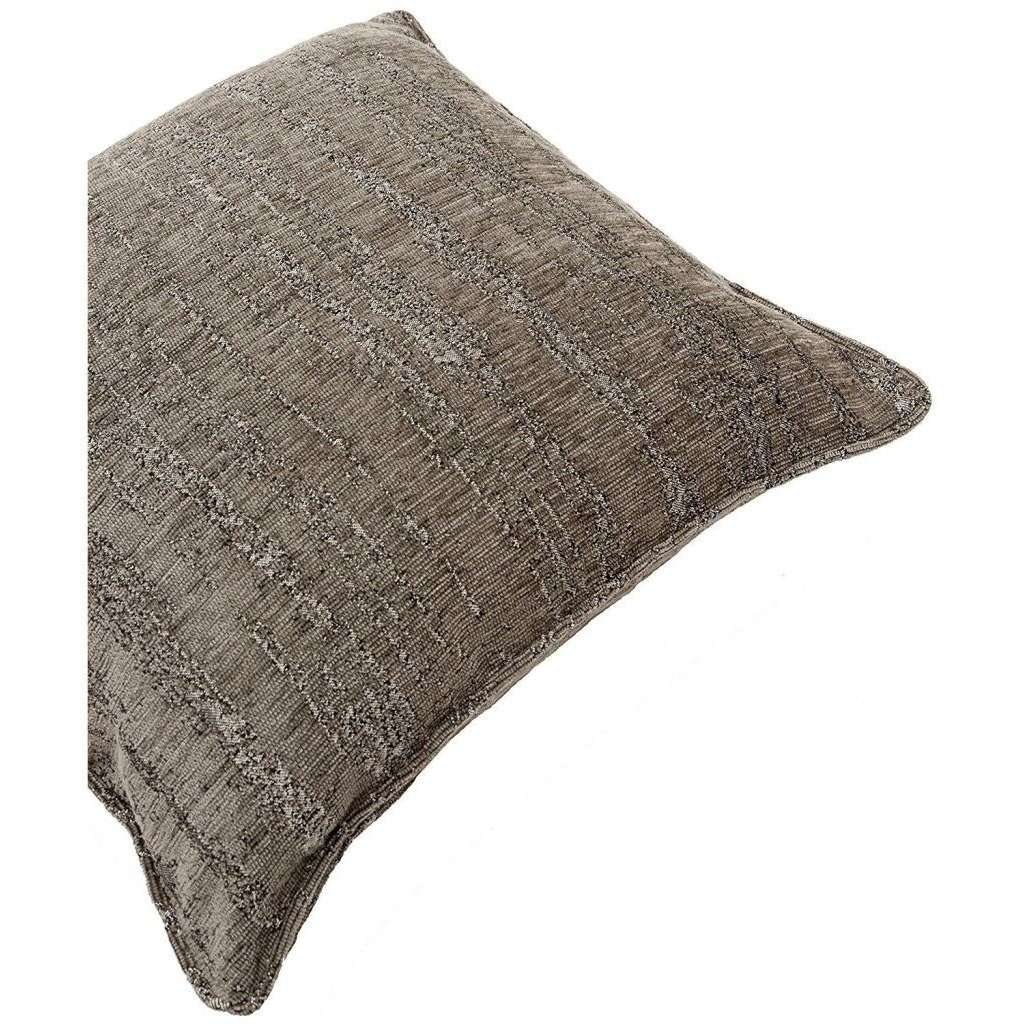McAlister Textiles Textured Chenille Charcoal Grey Cushion Cushions and Covers