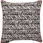 Cargar imagen en el visor de la galería, McAlister Textiles Aztec Geometric Black + White 43cm x 43cm Cushion Sets Cushions and Covers