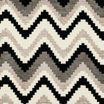 Load image into Gallery viewer, McAlister Textiles Navajo Black + Grey Striped Pillow Pillow