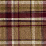 Load image into Gallery viewer, McAlister Textiles Heritage Tartan Purple + Green Curtain Fabric Fabrics 1 Metre
