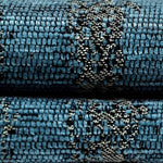 Load image into Gallery viewer, McAlister Textiles Textured Chenille Denim Blue Pillow Pillow