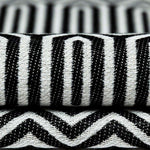 Load image into Gallery viewer, McAlister Textiles Colorado Geometric Black Fabric Fabrics