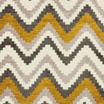 Load image into Gallery viewer, McAlister Textiles Navajo Yellow+ Grey Striped Fabric Fabrics 1 Metre