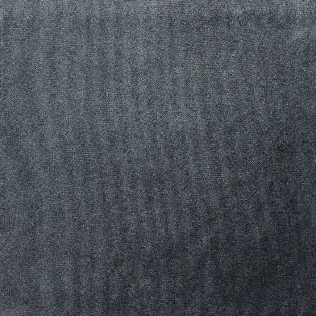 Mcalister Textiles Charcoal Grey Velvet Fabric