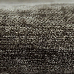 McAlister Textiles Plain Charcoal Grey Chenille Cushion-Cushions and Covers-