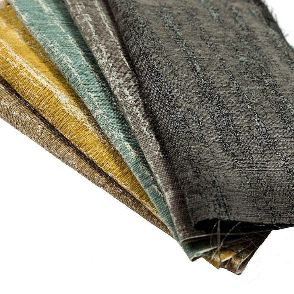 McAlister Textiles Textured Chenille Silver Grey Roman Blinds Roman Blinds