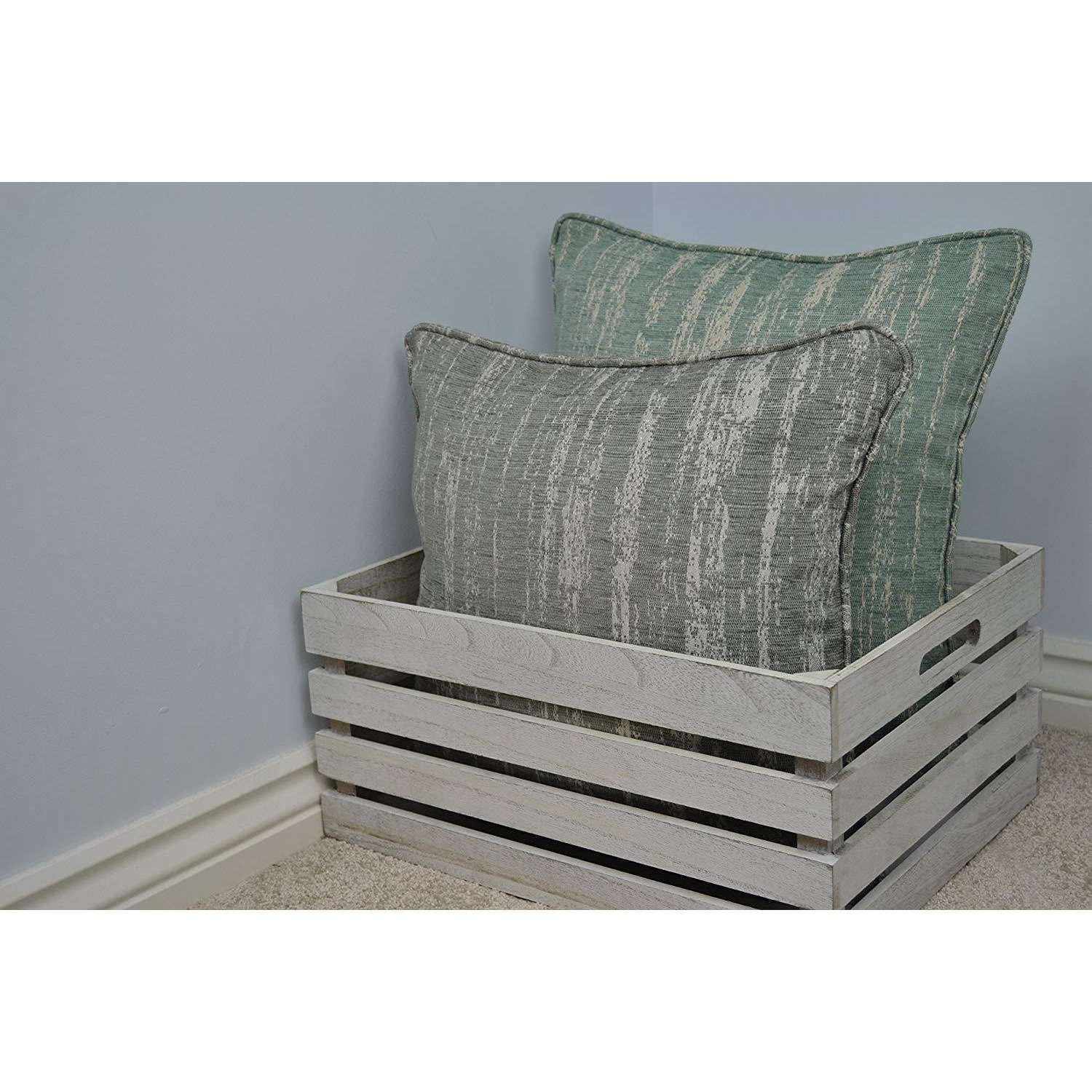 McAlister Textiles Textured Chenille Silver Grey Cushion Cushions and Covers