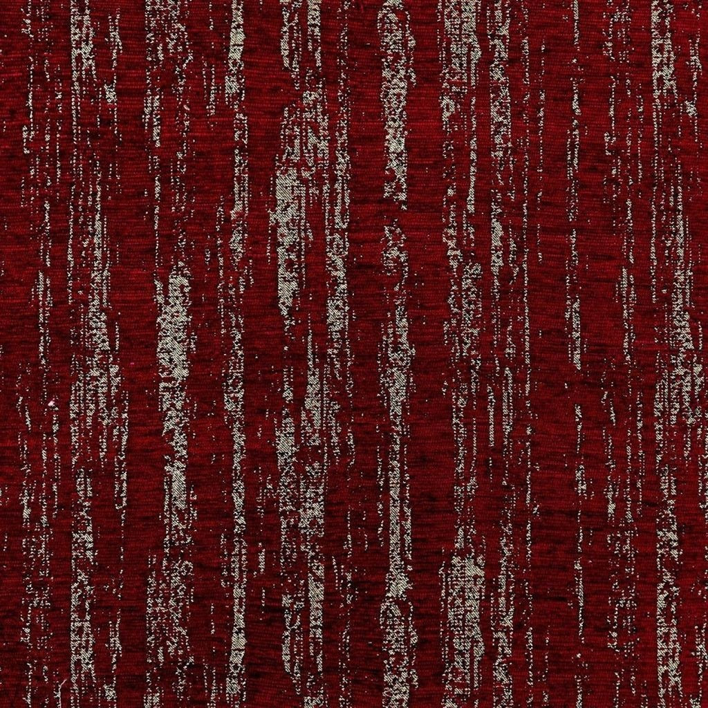 McAlister Textiles Textured Chenille Fabric Sample - Burgundy Red-Fabrics-