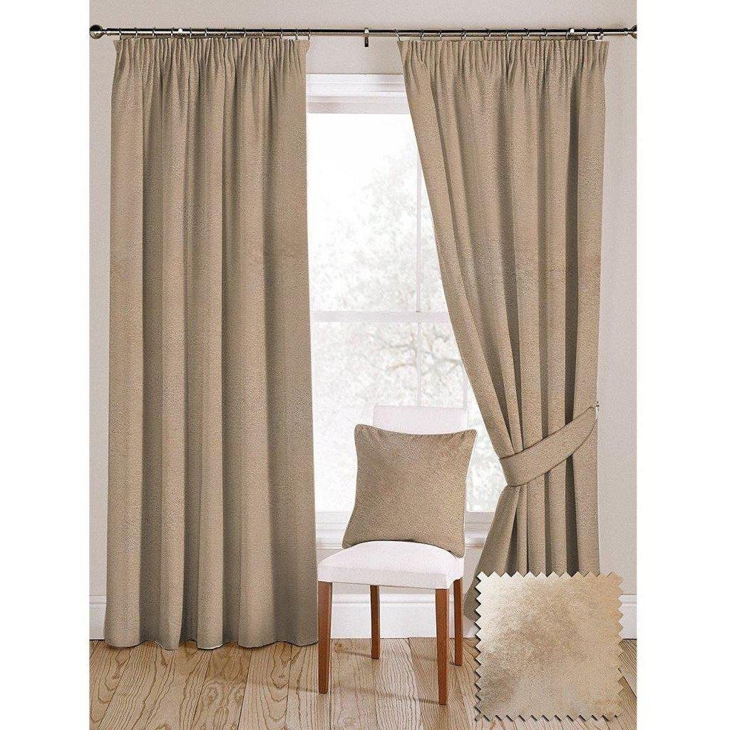 "McAlister Textiles Champagne Gold Crushed Velvet Curtains Tailored Curtains 116cm(w) x 182cm(d) (46"" x 72"")"