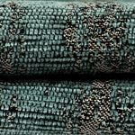 Carica l'immagine nel visualizzatore di Gallery, McAlister Textiles Textured Chenille Teal Cushion Cushions and Covers