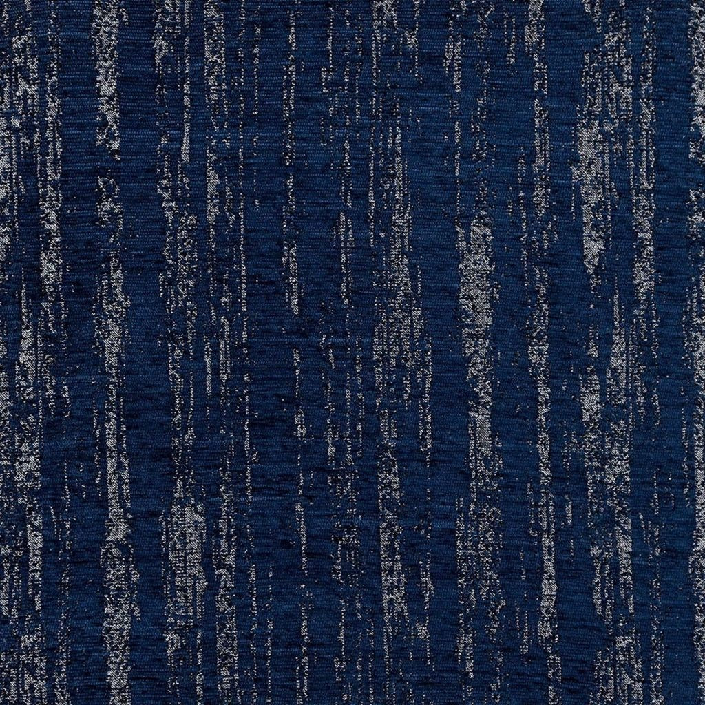 McAlister Textiles Textured Chenille Navy Blue Fabric Fabrics 1/2 Metre