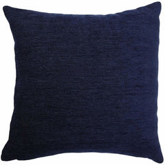 McAlister Textiles Navajo Woven Geometric Pattern Fabric Cushion Pillow Cover Denim Blue Back